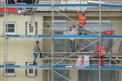Réalisation ravalement de façade, Label Face, votre enduiseur à Saint-Gilles-Croix-de-vie