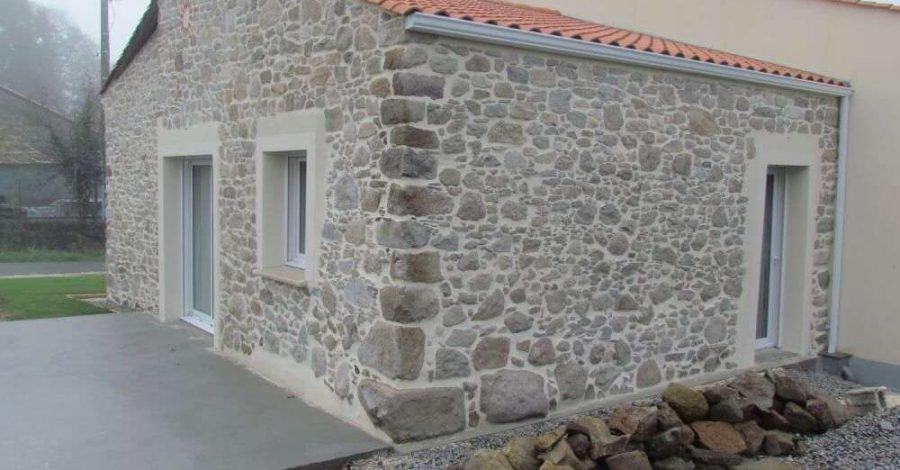 Réalisation rénovation façade, Label Face, votre enduiseur à Saint-Gilles-Croix-de-vie