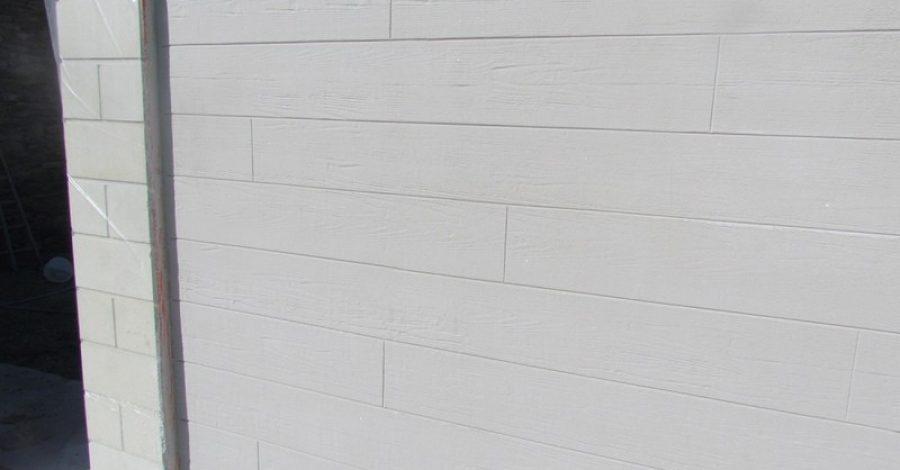 Réalisation d'enduit imitation bois et pierre, Label Face, votre enduiseur à Saint-Gilles-Croix-de-vie